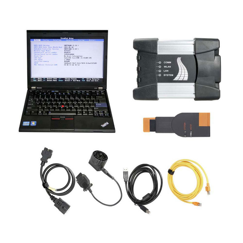 Durable Auto Diagnostic Tools BMW ICOM NEXT BMW ICOM A2 A+B+C Plus Lenovo X220 I5 4GB Laptop